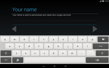 Sony Xperia Tablet Z2 LTE - Applications - Setting up the application store - Step 7