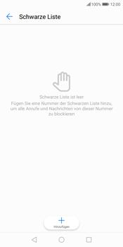 Huawei P Smart - Anrufe - Anrufe blockieren - Schritt 7