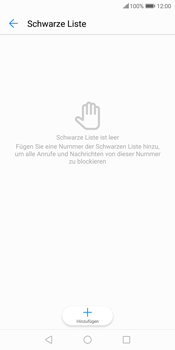 Huawei P Smart - Anrufe - Anrufe blockieren - 7 / 12