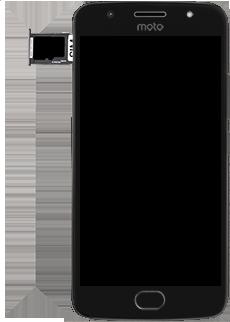 Motorola Moto G5s - SIM-Karte - Einlegen - 6 / 8