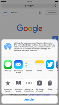 Apple iPhone 6 Plus iOS 9 - Internet - navigation sur Internet - Étape 5