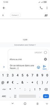 Alcatel 1S (2020) - Contact, Appels, SMS/MMS - Envoyer un MMS - Étape 13