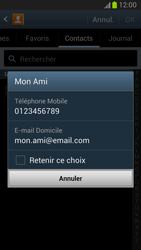 Samsung Galaxy Note 2 - Contact, Appels, SMS/MMS - Envoyer un SMS - Étape 7
