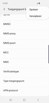 Samsung Galaxy S10e - MMS - handmatig instellen - Stap 14