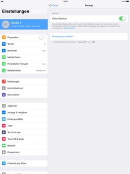 Apple iPad Pro 12.9 inch - Software - Eine iCloud-Sicherheitskopie erstellen und an ein neues Gerät übertragen - 7 / 10