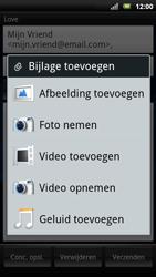 Sony Xperia Neo - E-mail - E-mails verzenden - Stap 8
