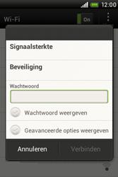 HTC A320e Desire C - Wifi - handmatig instellen - Stap 7