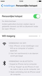 Apple iPhone SE met iOS 10 (Model A1723) - WiFi - Mobiele hotspot instellen - Stap 8