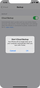 Apple iPhone 11 Pro - Data - Create a backup with your account - Step 11