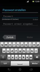 Sony Xperia T - Apps - Konto anlegen und einrichten - Schritt 7