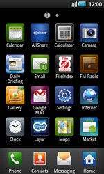 Samsung I5800 Galaxy Apollo - Voicemail - Manual configuration - Step 3