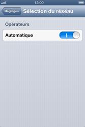 Apple iPhone 4S - Réseau - Sélection manuelle du réseau - Étape 4