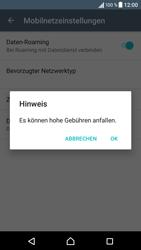 Sony Xperia X - Ausland - Im Ausland surfen – Datenroaming - 2 / 2