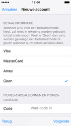Apple iPhone SE (iOS 10) - apps - account instellen - stap 19
