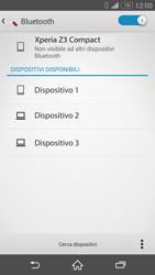 Sony Xperia Z3 Compact - Bluetooth - Collegamento dei dispositivi - Fase 6