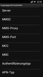 Sony Ericsson Xperia Ray mit OS 4 ICS - MMS - Manuelle Konfiguration - 13 / 17