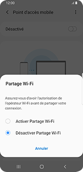 Samsung Galaxy S9 Android Pie - Internet - comment configurer un point d'accès mobile - Étape 7