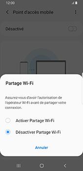 Samsung Galaxy S9 - Android Pie - WiFi - Comment activer un point d'accès WiFi - Étape 7