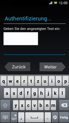 Sony Xperia J - Apps - Konto anlegen und einrichten - 1 / 1