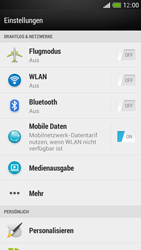 HTC One Mini - WiFi - WiFi-Konfiguration - Schritt 4