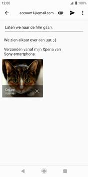 Sony xperia-xz2-h8216-android-pie - E-mail - Bericht met attachment versturen - Stap 16