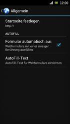 Sony Ericsson Xperia Ray mit OS 4 ICS - Internet - Apn-Einstellungen - 20 / 24