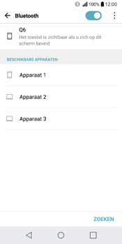 LG Q6 - bluetooth - aanzetten - stap 6