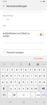 Samsung Galaxy A80 - E-Mail - Konto einrichten - Schritt 14