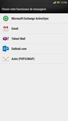 HTC One Max - E-mail - configuration manuelle - Étape 5