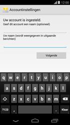 Motorola Moto G (1st Gen) (Kitkat) - E-mail - handmatig instellen (yahoo) - Stap 9