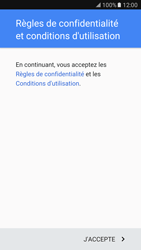 Samsung Galaxy S7 - Applications - Configuration de votre store d