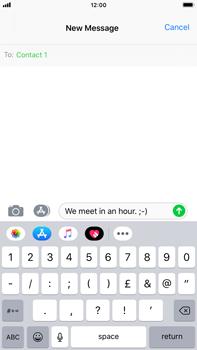 Apple iPhone 8 Plus - iOS 12 - MMS - Sending pictures - Step 7