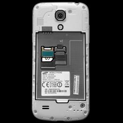 Samsung I9195 Galaxy S4 Mini LTE - SIM-Karte - Einlegen - Schritt 4