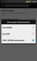 HTC Desire 500 - Netzwerk - Netzwerkeinstellungen ändern - 6 / 7