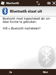 HTC T3333 Touch II - bluetooth - aanzetten - stap 5