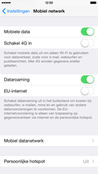 Apple iPhone 6 iOS 8 - Internet - dataroaming uitschakelen - Stap 4