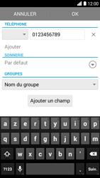 Bouygues Telecom Ultym 5 - Contact, Appels, SMS/MMS - Ajouter un contact - Étape 8