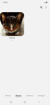 Samsung Galaxy Note 10+ - Photos, vidéos, musique - Envoyer une photo via Bluetooth - Étape 6