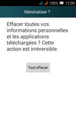 Huawei Y3 - Appareil - Réinitialisation de la configuration d