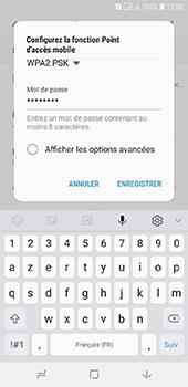Samsung Galaxy A6 - Internet - comment configurer un point d'accès mobile - Étape 10