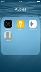 Apple iPhone 5s (iOS 8) - Contact, Appels, SMS/MMS - Ajouter un contact - Étape 4