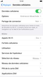 Apple iPhone 7 - iOS 13 - Réseau - Sélection manuelle du réseau - Étape 4