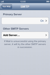 Apple iPhone 4S - E-mail - Manual configuration - Step 15