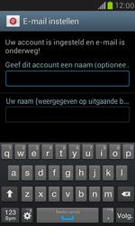 Samsung I8190 Galaxy S III Mini - E-mail - Account instellen (POP3 met SMTP-verificatie) - Stap 16