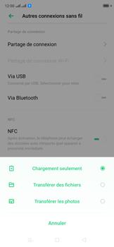 Oppo Reno 2Z - Internet et connexion - Utiliser le mode modem par USB - Étape 6