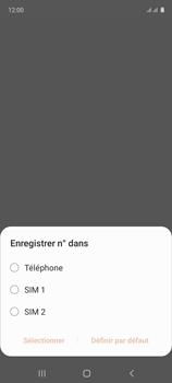 Samsung Galaxy A51 - Contact, Appels, SMS/MMS - Ajouter un contact - Étape 5