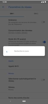 Nokia 7.2 - Réseau - Sélection manuelle du réseau - Étape 10