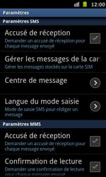 Samsung I9070 Galaxy S Advance - SMS - Configuration manuelle - Étape 4