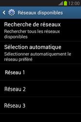 Samsung Galaxy Fame Lite - Réseau - Sélection manuelle du réseau - Étape 8