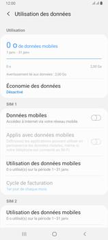 Samsung Galaxy A80 - Internet et roaming de données - Comment vérifier que la connexion des données est activée - Étape 6
